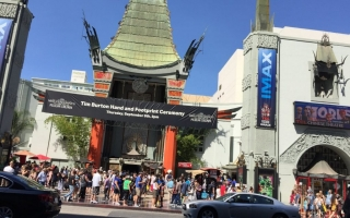 2016 Los Angeles, California, Chinese Theater on Hollywood Boulevard
