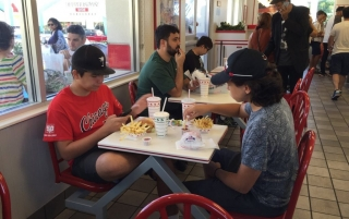 2016 Los Angeles, California, In-N-Out Burger
