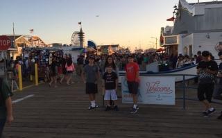 2016 Los Angeles, California, Santa Monica Pier