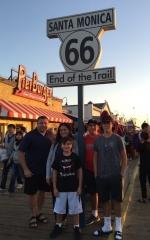 2016 Los Angeles, California, Santa Monica Pier - End of Route 66