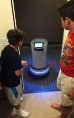 2016 Los Angeles, California, Wally Robot at Marriott Hotel