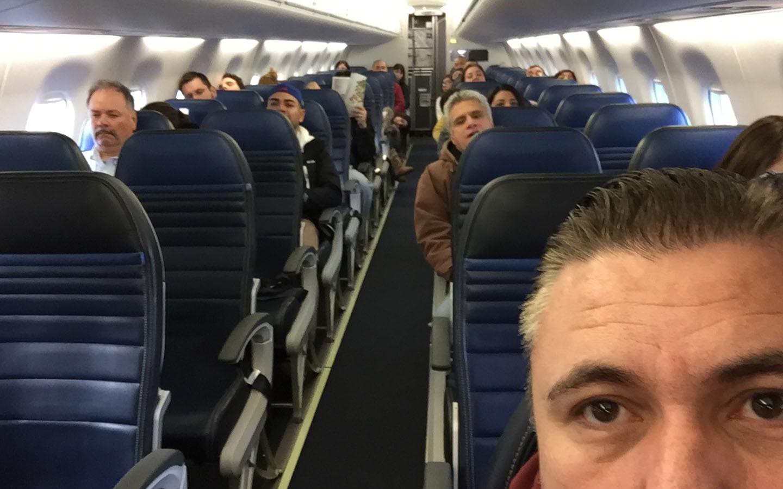 United flight to Monterrey, Mexico