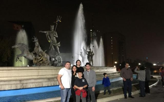 Fuente de Neptuno o de la Vida, Monterrey, Mexico