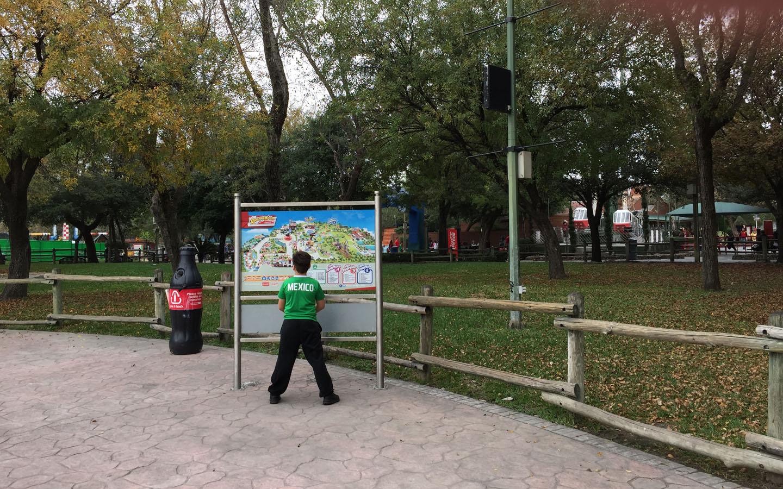 Bosque Mágico Coca Cola, Monterrey, Mexico
