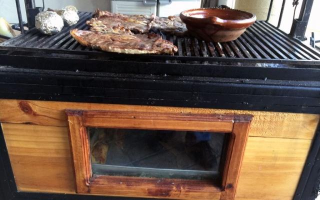 Family cookout, Monterrey, Mexico