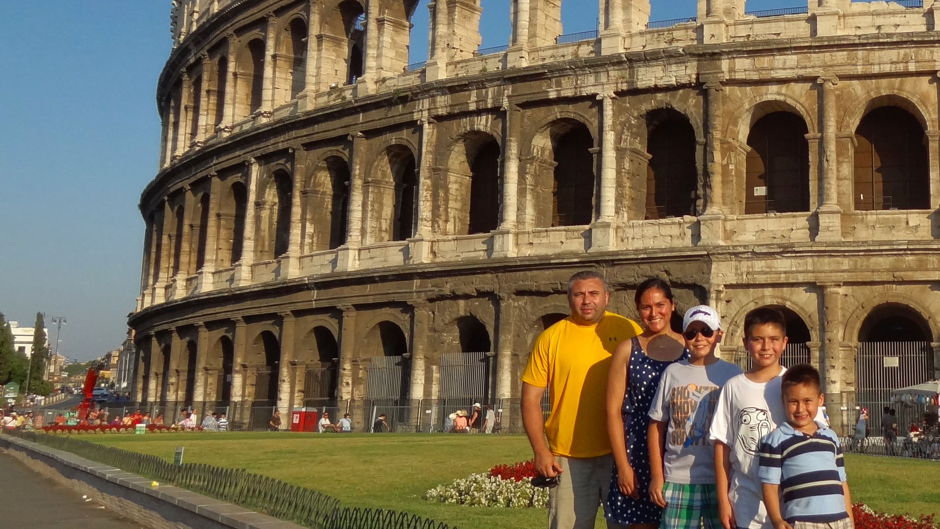 Rome, Italy, 2013 Tamas